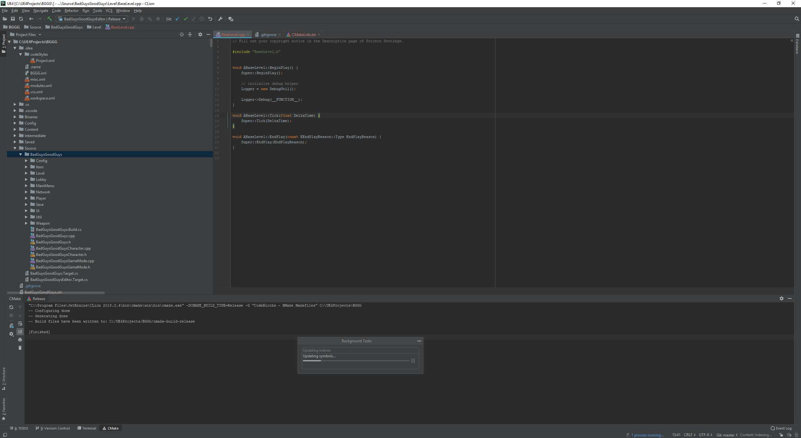Unreal C++ with CLion 2018 – Jolly Monster Studio